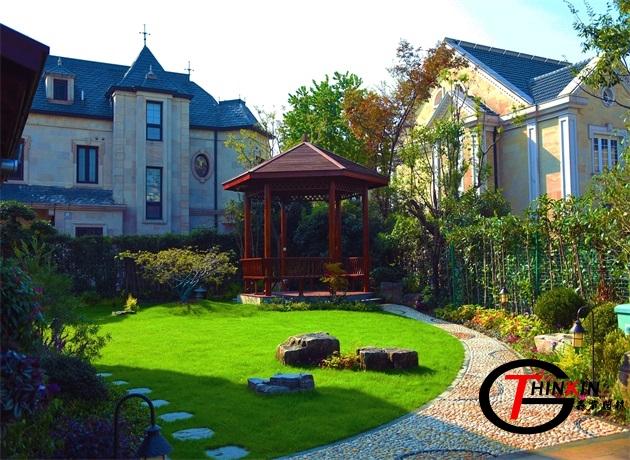 圣堡别墅  私家庭院设计