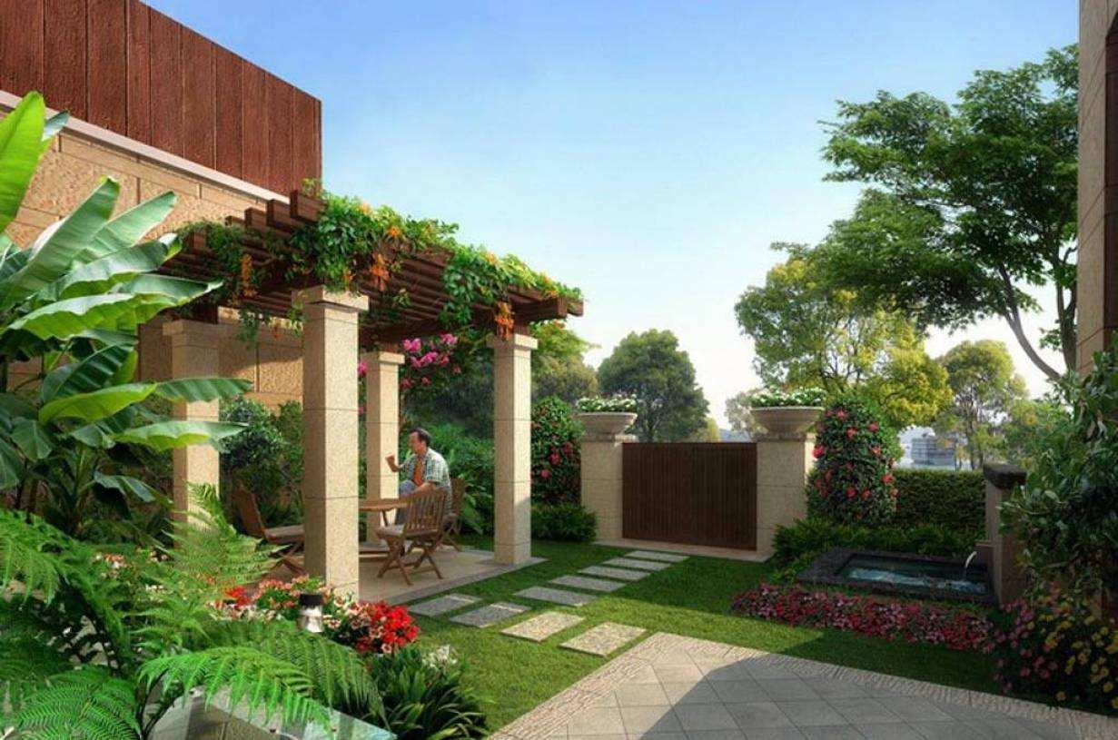 地中海庭院有哪些特色?