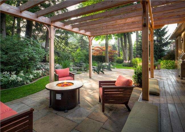 美式元素的设计在庭院中的应用
